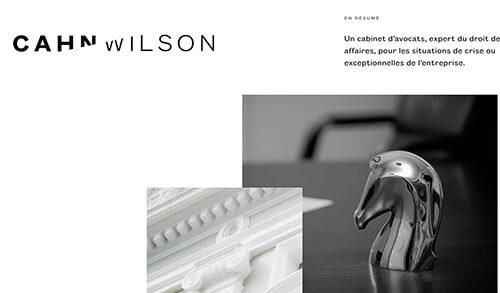 Espace blanc et web design minimaliste
