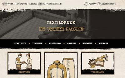 Web design classique et vintage