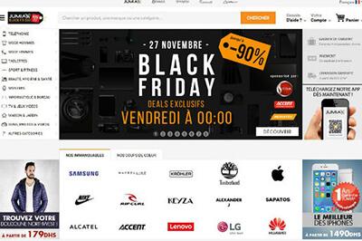 Annoncez les offres du Black Friday sur la page d'accueil