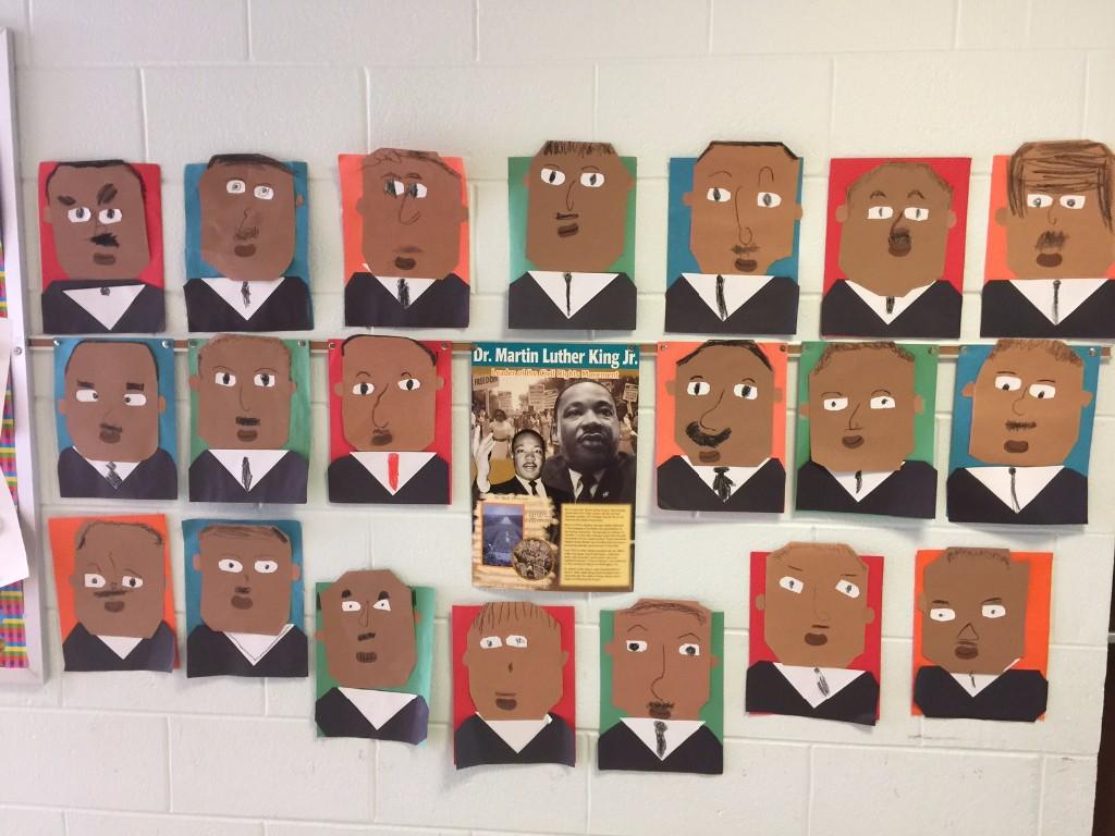 Kindergarten Black History Month Rydal Elementary School