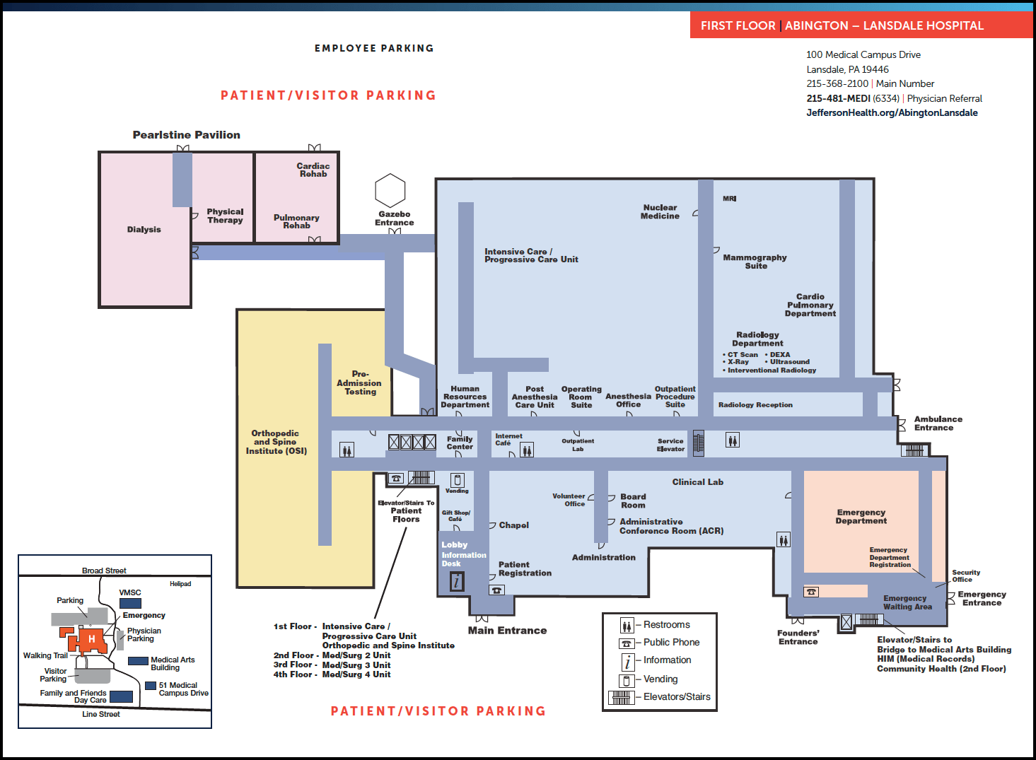 hight resolution of alh first floor map