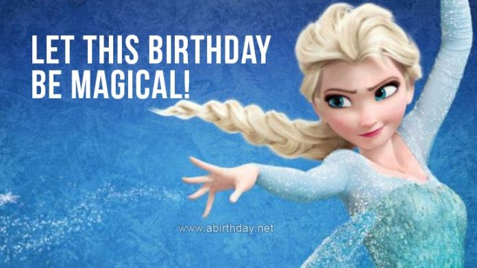 Frozen Magical Birthday