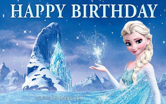 Frozen Happy Birthday Meme