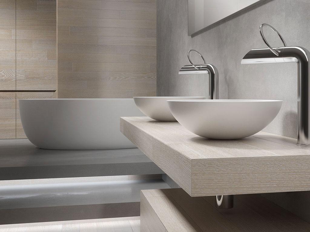 Il progetto bagno di Itlas al Salone del Mobile