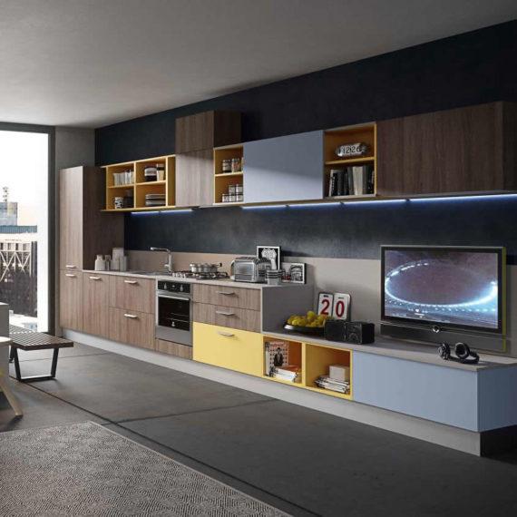 ABACO UP  Snaidero Design  Abitare Pesolino Lecce
