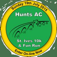 St Ives 10K logo