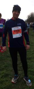 pic of Jim at start of run