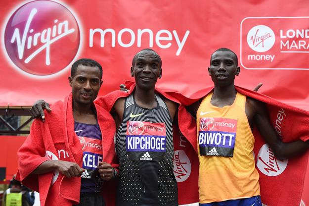 3 first male finishers in London Marathon