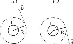 Поле проводника (вид сверху)