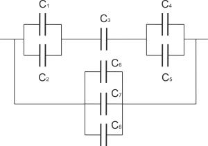 Схема поиска полной электроёмкости
