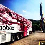 Il Baobab in piazzale Cadorna a Milano