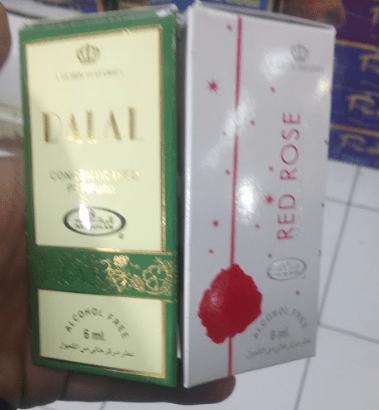 Parfum Dobha Dalal Al Rehab (Red Rose & Original)