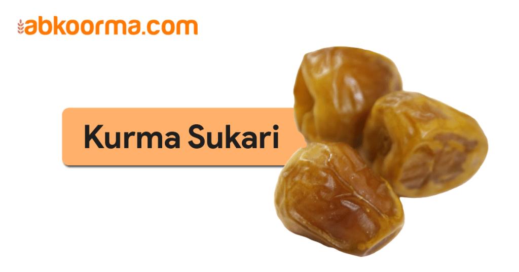 Kurma Sukari - Jenis jenis kurma favorit di Indonesia