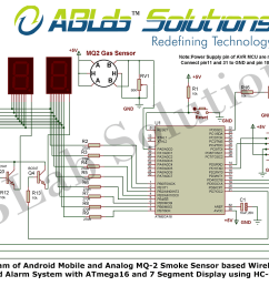 avr microcontroller based fire alarm circuit diagram schema wiring android mobile and analog mq 2 smoke [ 1500 x 1022 Pixel ]