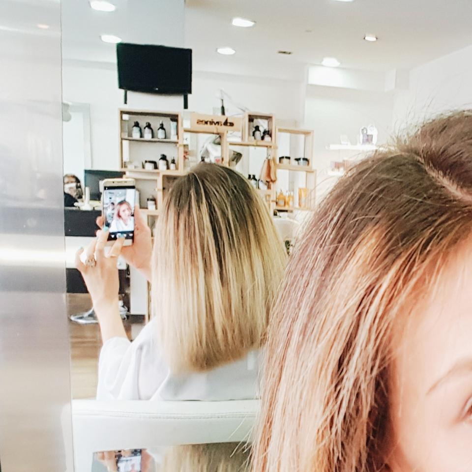 Jai test  le blond californien avec Olaplex  Blog lifestyle food travel  AblaCarolyn