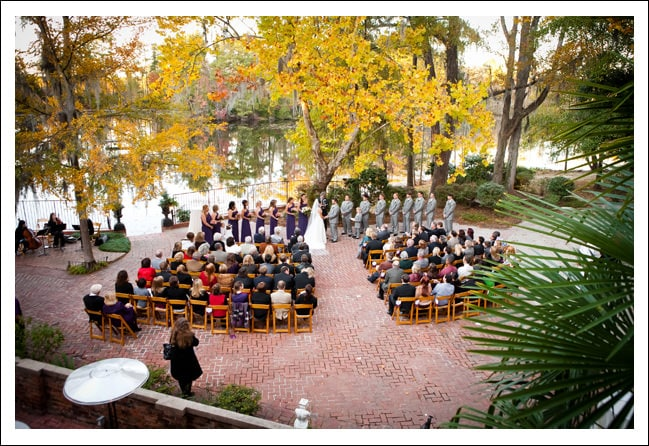 Fall Wedding at The Millstone at Adams Pond in Columbia, SC :: Caralee and Steven