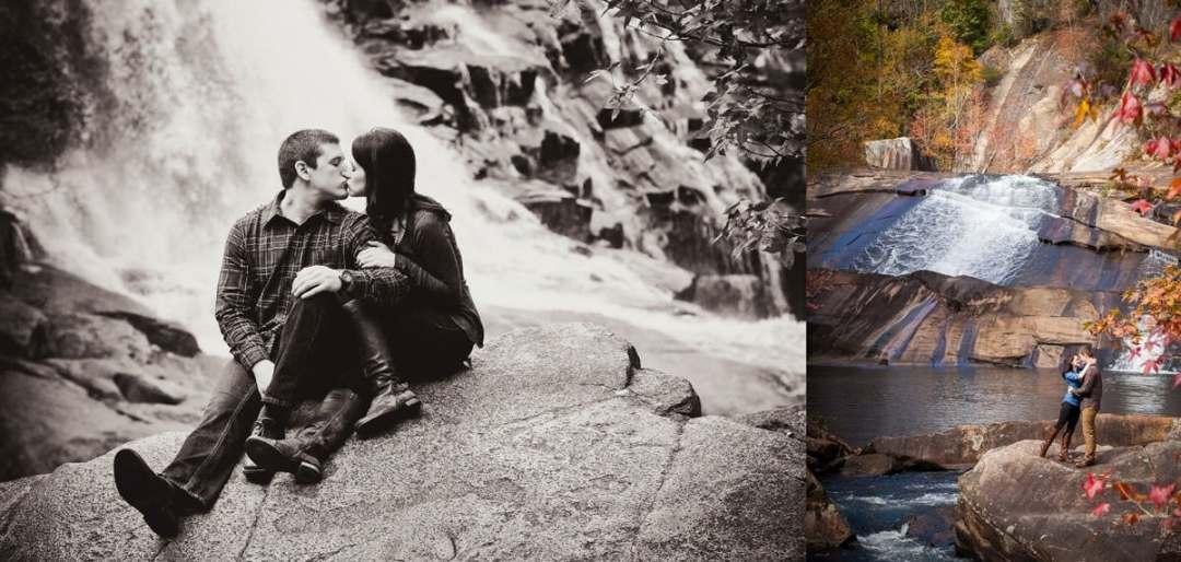Engagement session at Tallulah Gorge
