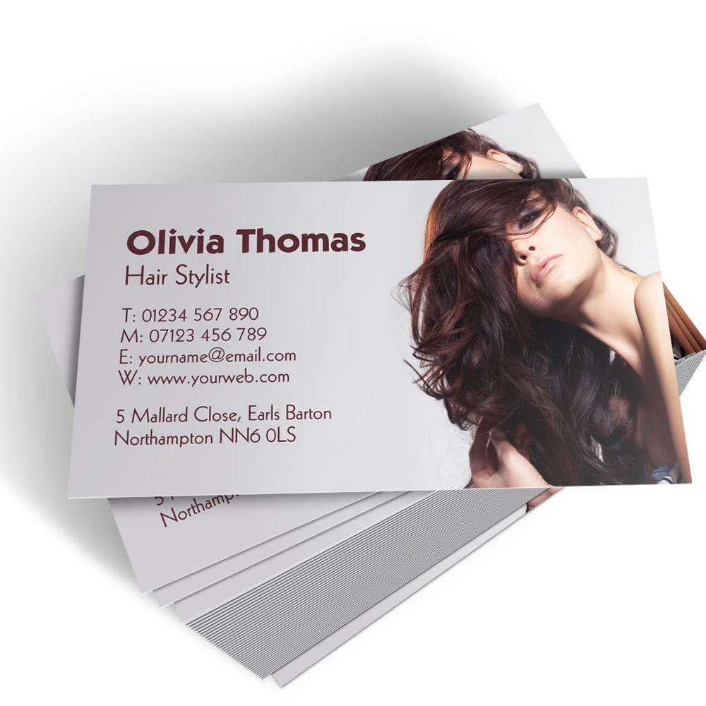 Hairdresser Templated Business Card 2  Able Labels