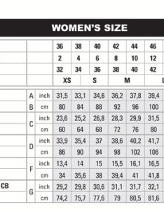 Image also able   reference size chart for beretta clothing rh ableammo