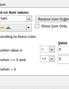 Conditional formatting with icon sets also excel data bars and color scales rh ablebits