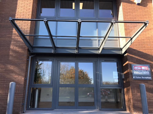Kensington Entrance Canopy  Canopies  UK Canopy Expert