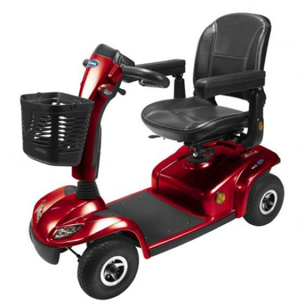 british mobility chairs chair leg accessories aberdeen and inverness scooters pride scooter retailer leo invacare in red