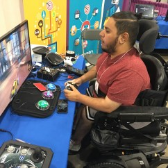Wheelchair Fight Table And Chairs For Toddlers At Walmart S Stigma Breaker Gamers With Disabilities Are