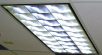 Fluorescent Fixtures Converted to LED