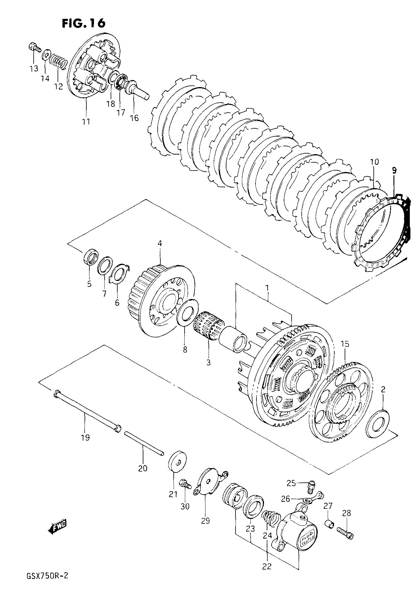 [WRG-3991] 1992 Gsxr 750 Engine Diagram
