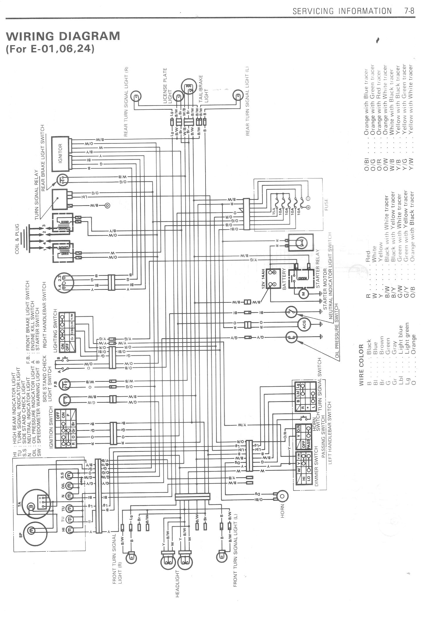 suzuki hayabusa wiring diagram ac condenser fan motor 1999 auto