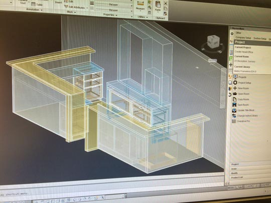 CAD Shop Drawings  3D Cabinet Design Software Services