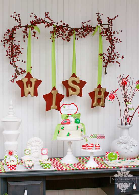 Part 1 The Dessert Table My Christmas Wish Collection By
