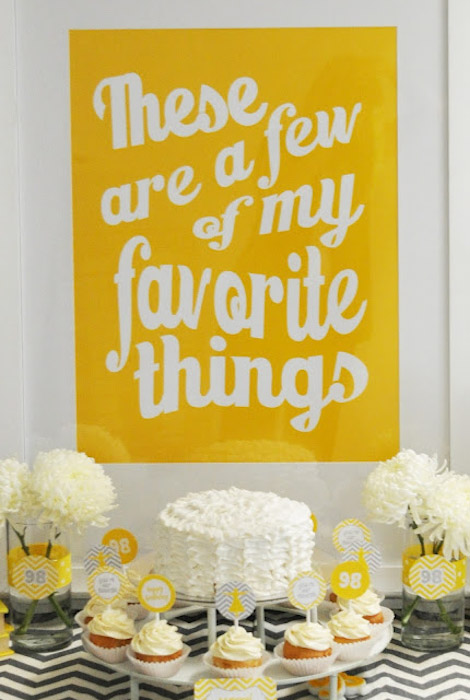 90th Birthday Party Favor Suggestions