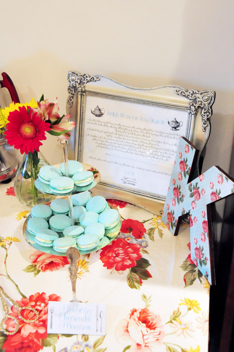 Vintage Tea Party Baby Shower
