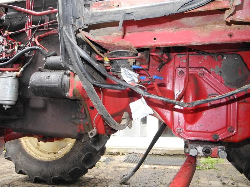 ReparaturTeilrestauration IHC 744 AS  International Harvester Neuss