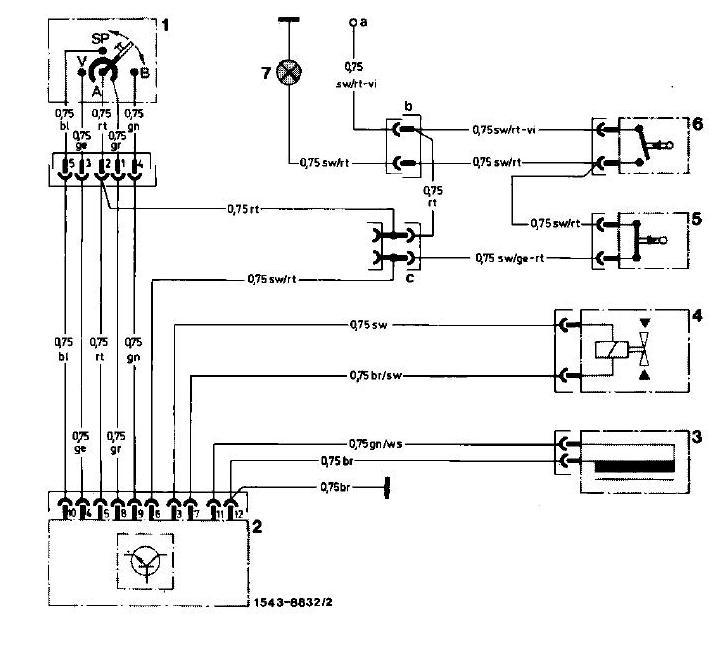 Schaltplan Mercedes W202