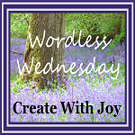Projektbutton Wordless Wednesday von createwithjoy