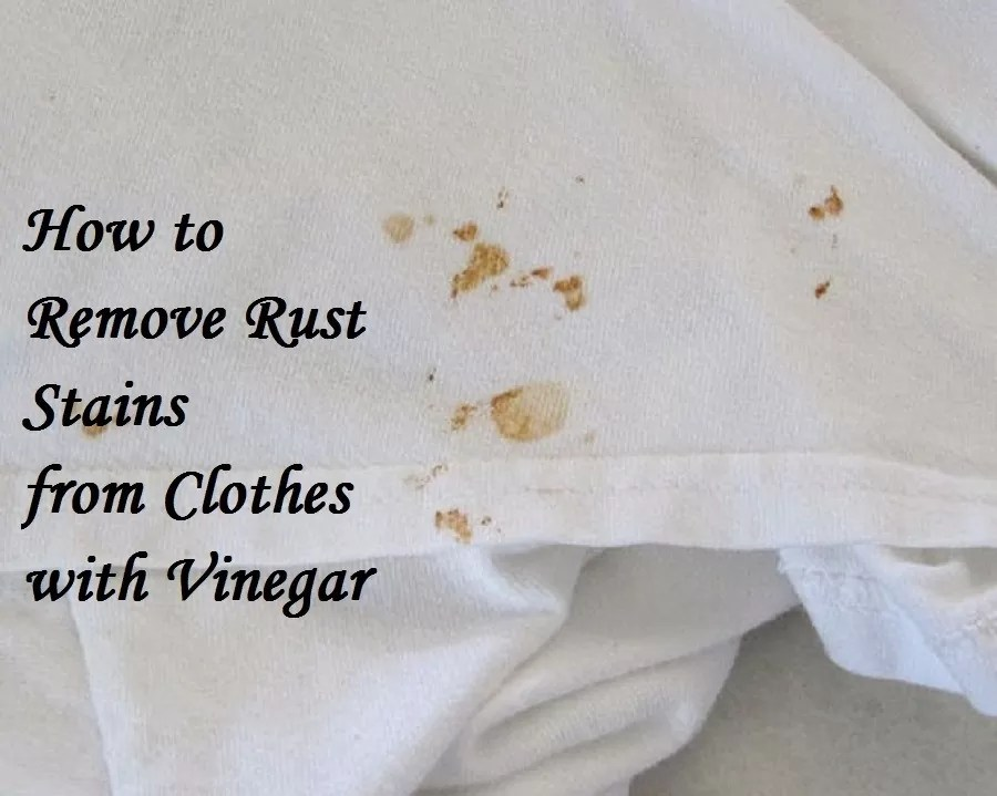 how to remove a rust stain from a carpet