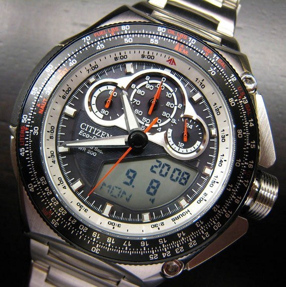 "Citizen Promaster Split Second Timer ""SST"" 1/1000 Of A Second Race Chronograph Watch: Reason That Electronic Is Best For Timing Watch Buying"