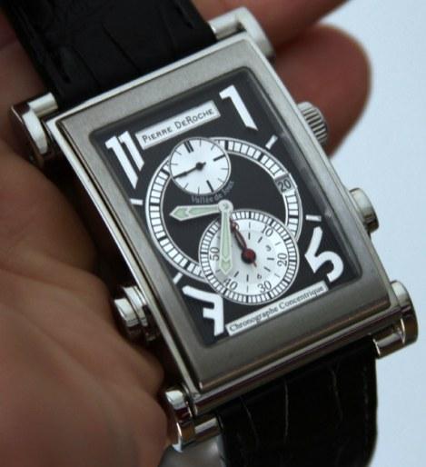 Pierre DeRoche SplitRock Watch Review Wrist Time Reviews