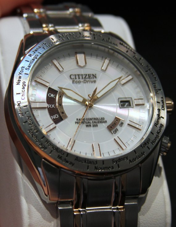Citizen Eco-Drive World Perpetual AT Watches Watch Releases