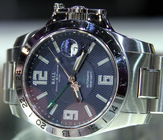 Ball Engineer Hydrocarbon Magnate GMT Watch  aBlogtoWatch
