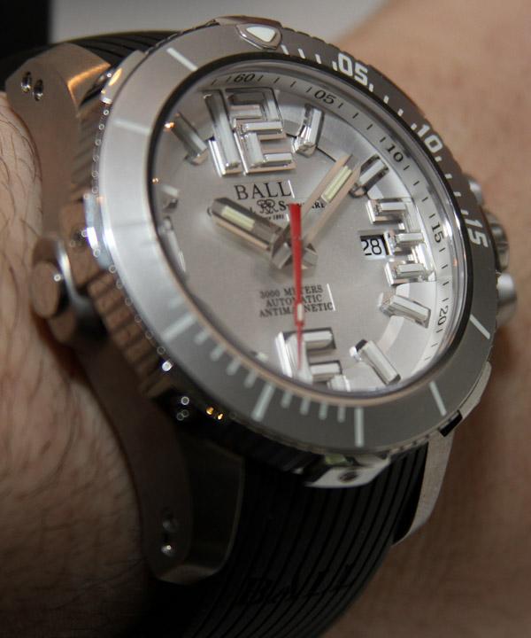 Ball Engineer Hydrocarbon Deep Quest 3000m Diver Watch
