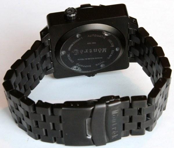 Montrek Square Diver PVD Watch Review Wrist Time Reviews
