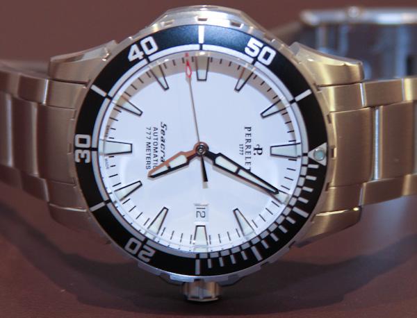 perrelet seacraft watches hands