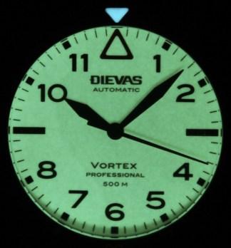 Dievas Vortex Professional Watch Review Wrist Time Reviews