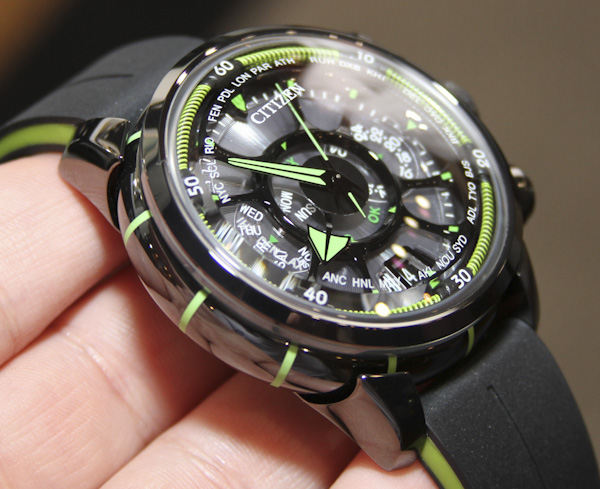Citizen Eco Drive Satellite Wave Watch Hands On Ablogtowatch
