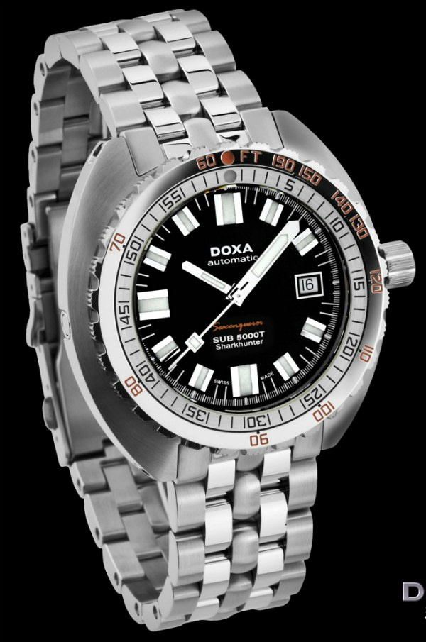 Doxa Shark Ceramica XL Limited Edition Watch Watch Releases