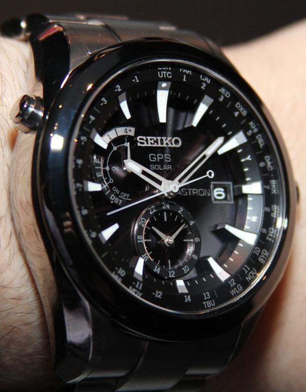 Seiko Astron Gps Solar Watch Hands On Ablogtowatch