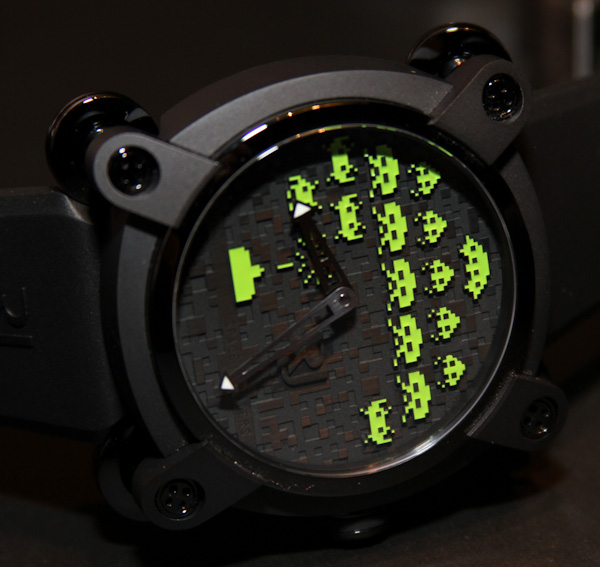 Romain Jerome Space Invaders Watches Hands-On Hands-On Kids watches